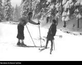 Tatry. Tak dawniej wędrowano na nartach po górach. Nie było tłumów, była przyroda, przygoda i piękne widoki [ZDJĘCIA]