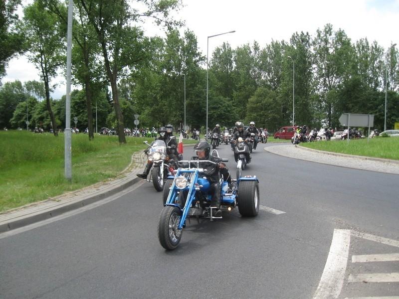 Motocykliści urządzili wielką paradę ulicami Żar