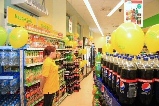 W kieleckim sklepie Dobry Wybór można kupić coraz więcej produktów.