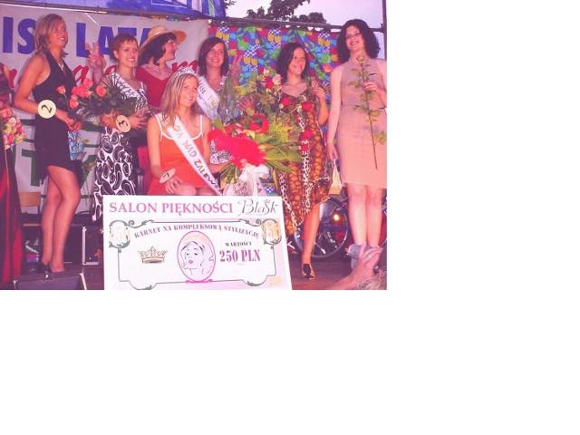Katarzyna Zając ze Szczecina (na zdjęciu w koronie) - Miss Lata nad Zalewem wygrywa już kolejny konkurs piękności. W minionym roku zdobyła tytuł Miss Jeziora Dąbie.