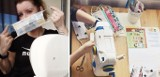 Policjantka z Kórnika szyje maseczki dla szpitala w Puszczykowie