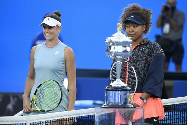Jennifer Brady i Naomi Osaka