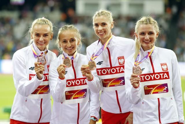 Sztafeta na 4x400 metrów kobiet w składzie Justyna Święty, Aleksandra Gaworska, Iga Baumgart i Małgorzata Hołub zdobyła ostatni, ósmy medal dla Polski podczas MŚ w lekkoatletyce.