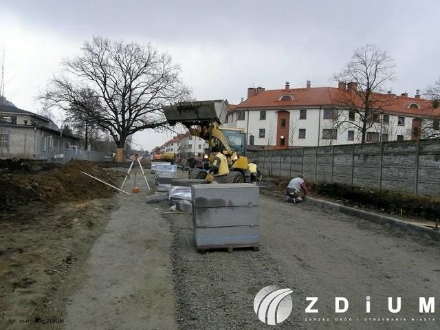 Przebudowa ulicy Maczka na Ołtaszynie