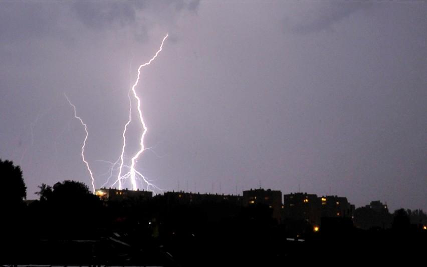 Burza przetacza się przez Opolszczyznę.