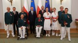 Maksym Chudzicki z Kielc odznaczony przez prezydenta Andrzeja Dudę. Nasz tenisista zdobył brąz na paraolimpiadzie w Tokio [ZDJĘCIA]