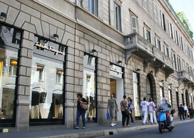 butik najsłynniejszego szewca z Florencji - Salvatore Ferragamo