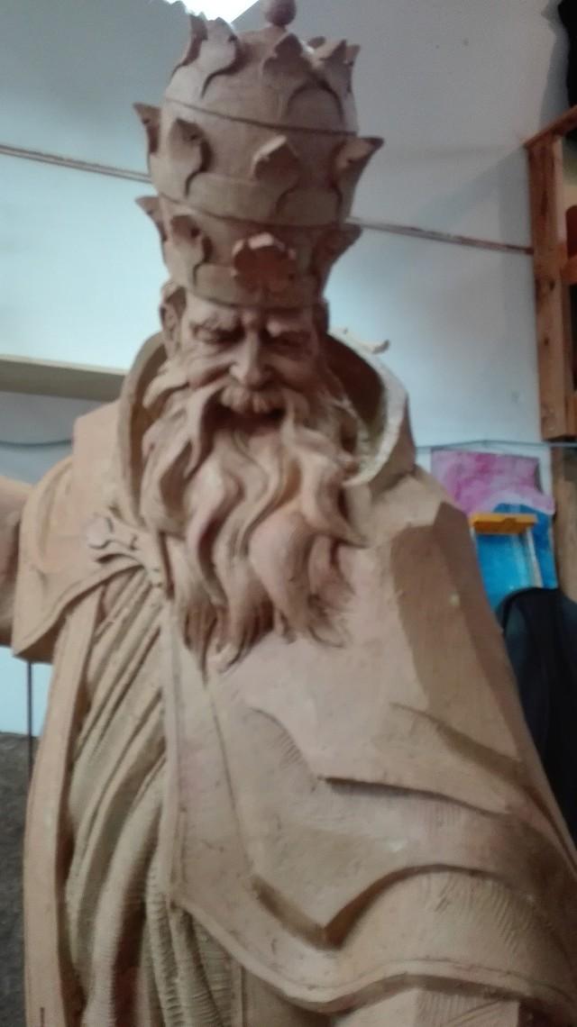 Tak wyglądał projekt pomnika św. Urbana I - patrona miasta.