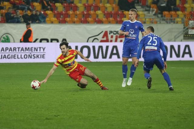 Ostatni mecz Żółto-Czerwonych ze Słonikami (listopad 2017) skończył się remisem 0:0. Oby w sobotę Jagiellonia osiągnęła lepszy wynik