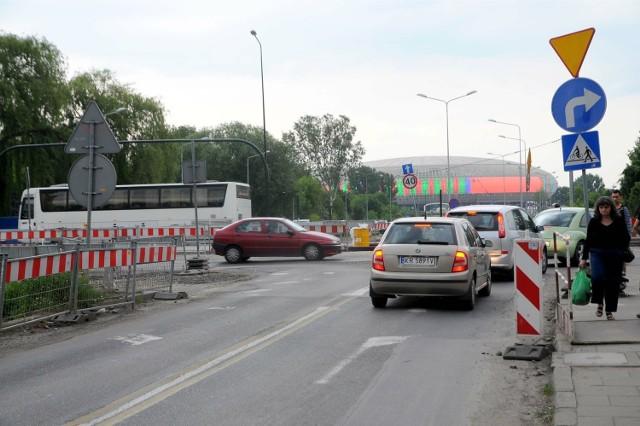 Jedną z inwestycji, do której trzeba dopłacić jest przebudowa trasy od Ronda Mogilskiego do Placu Centralnego