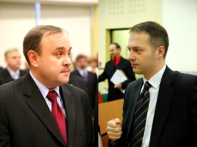 Jarosław Matwiejuk złożył najwięcej zapytań i interpelacji (z lewej). Jacek Żalek ma najmniej zapytań i interpelacji na swoim koncie.