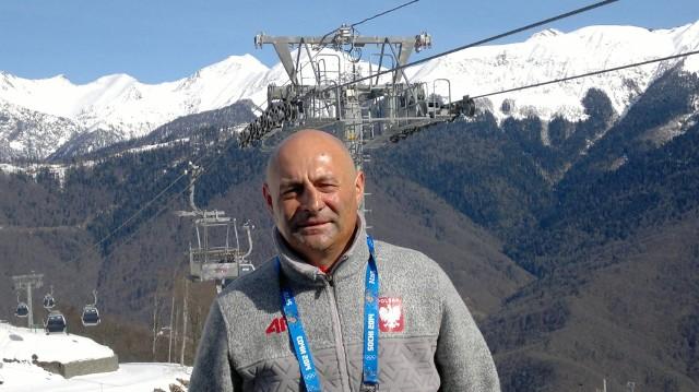 Marek Graczyk na igrzyskach w Soczi