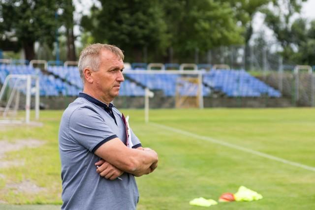 Leszek Janiczak prowadził Hutnika od października 2016 roku