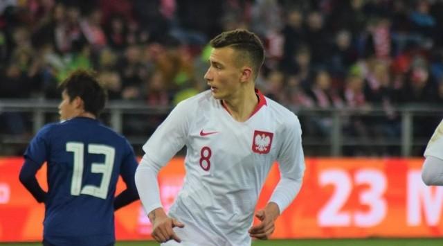 Dominik Sokół, piłkarz Radomiaka Radom zadebiutował w reprezentacji Polski do lat 20 w meczu z Japonią.