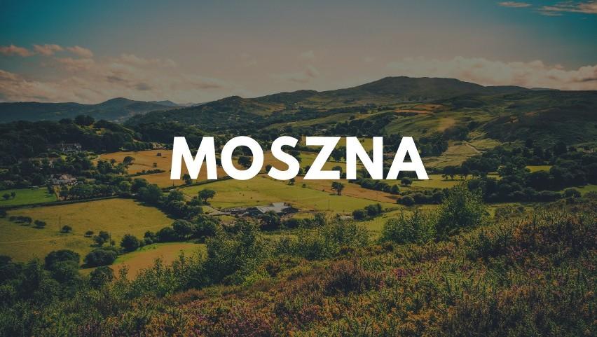 Najbardziej znana polska Moszna to wieś w województwie...
