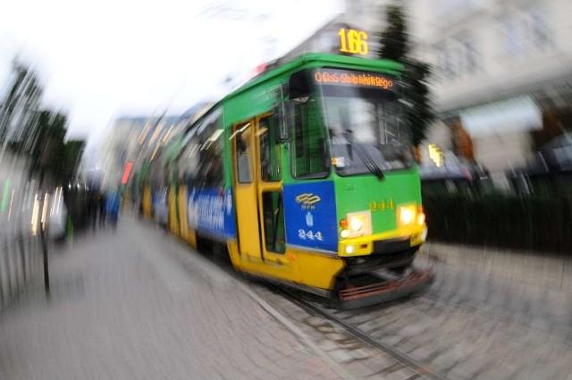 Śródka: Awaria tramwaju. Ruch był wstrzymany