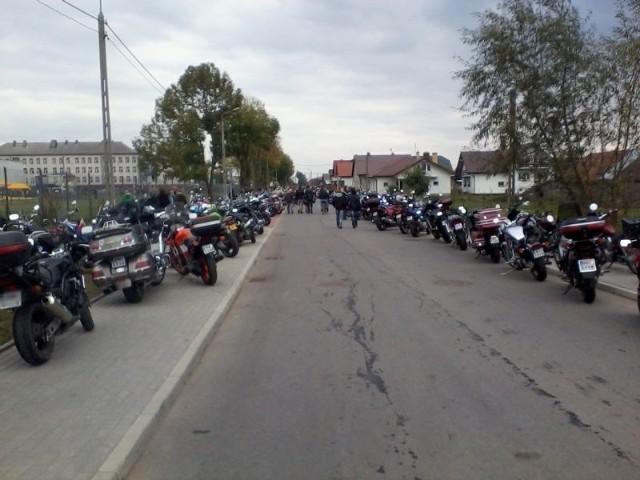 Motocykle na ulicach Brańska