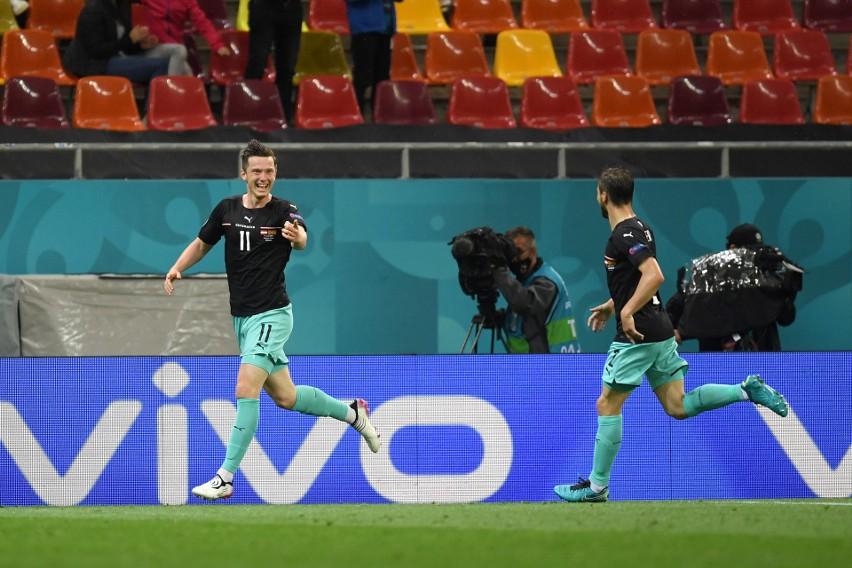 """Euro 2020. Austria """"zepsuła"""" debiut Macedonii Północnej. Gol weterana Gorana Pandeva"""