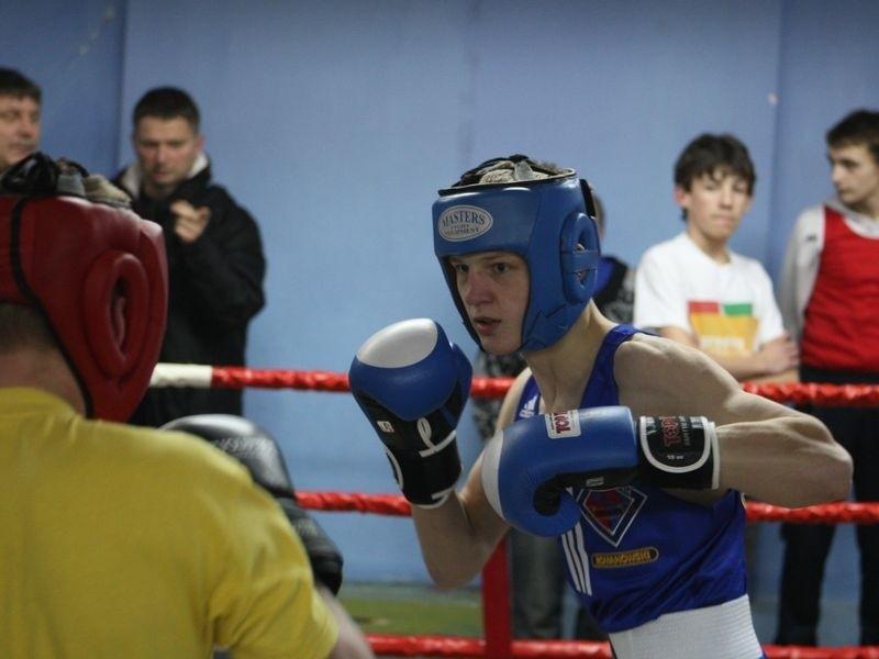 Marek Jędrzejewski w trakcie treningu.