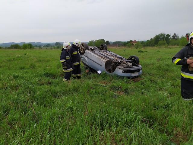 W sobotę, o godz. 9.40, podlascy strażacy otrzymali informację o wypadku w miejscowości Złotoria Cegielnia.