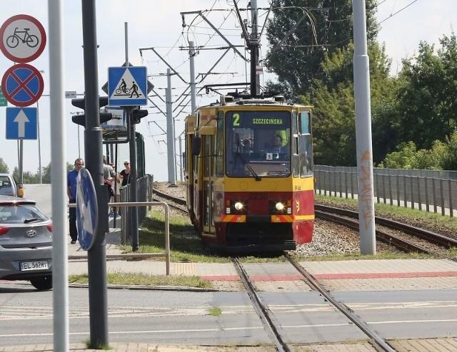 Zatrzymanie tramwajów trwała około dwóch godzin.
