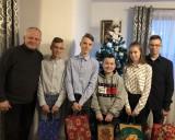 Ze świąteczną wizytą u czworaczków z Topoli [zdjęcia]