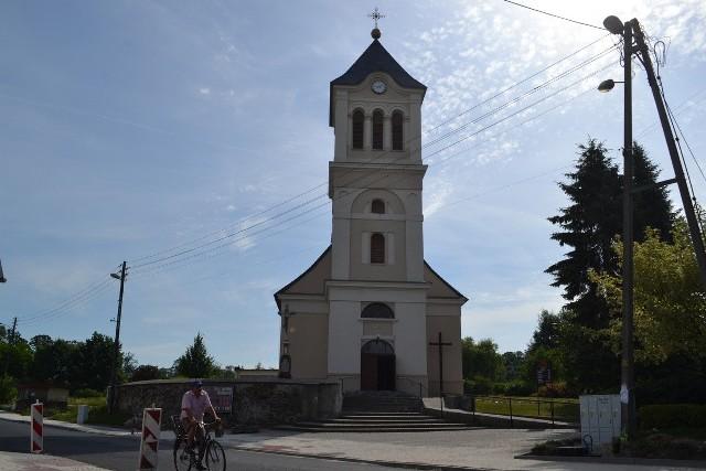Parafia Świętej Katarzyny Dziewicy i Męczennicy w Pawonkowie.