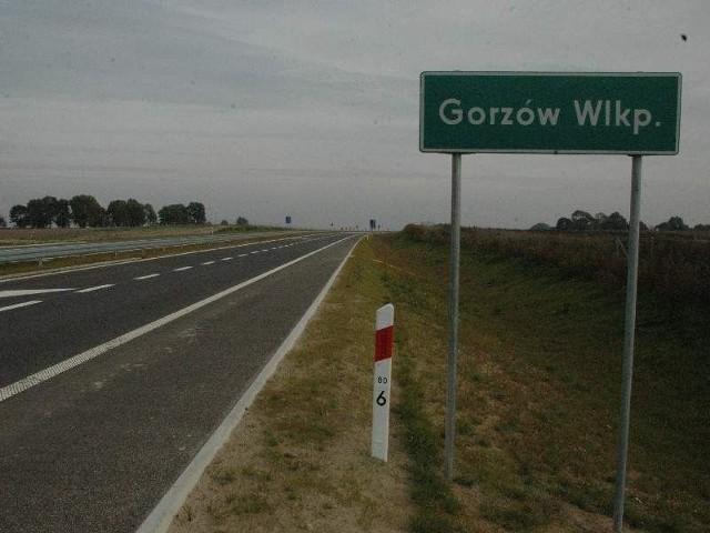 (fot. Paweł Kozłowski) Drogą S3 na razie można dojechać jedynie ze Szczecina do Gorzowa