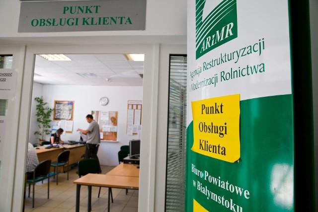 Większość kierowników biur powiatowych POR ARiMR otrzymało wypowiedzenia