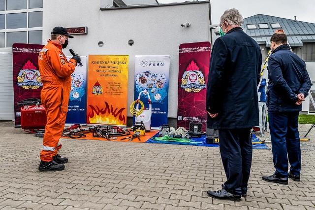 Specjalistyczna Grupa Poszukiwawczo-Ratownicza OSP Gdańsk z nowym sprzętem