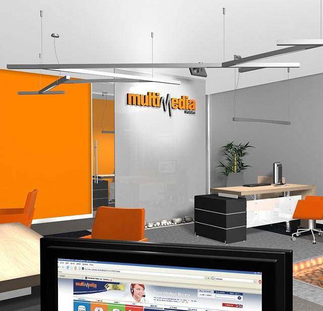 Tak w całym kraju mają wyglądać biura obsługi klientów Multimediów po przebudowie