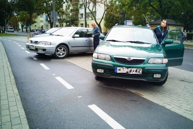 Zasłoniliśmy twarze kierowcom, bo liczymy, że następnym razem zaparkują już prawidłowo