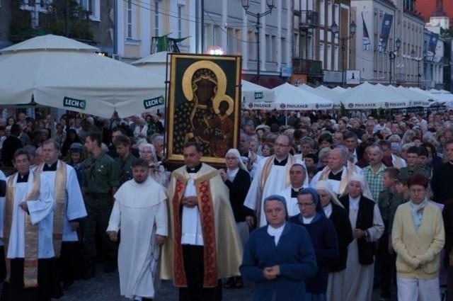 Procesja z ikoną w centrum Białegostoku