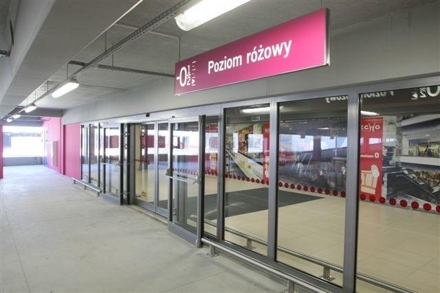 Tak wygląda wejście z nowego parkingu do wind. Fot D. Łukasik
