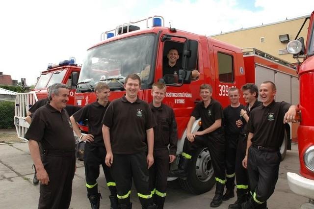 Ochotnicy z Cybinki są zgraną drużyną. Strażacy zawsze mogą na siebie liczyć podczas akcji ratunkowych. Chętnie też razem spędzają wolny czas.