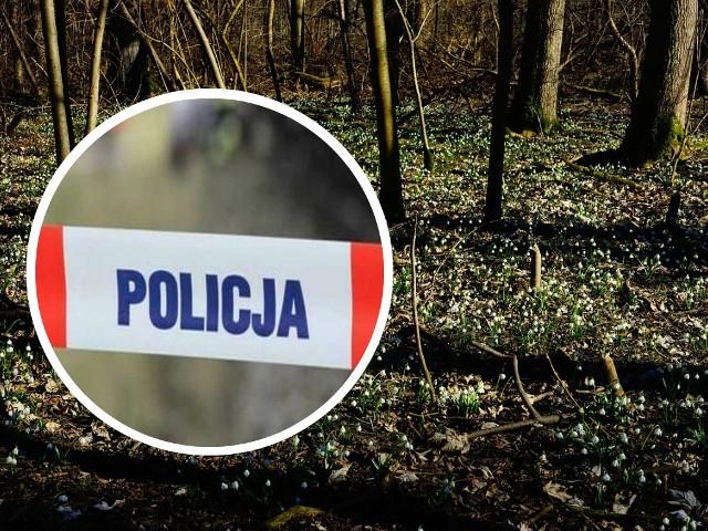 Trwają czynności ustalające, czyje ciało znaleziono w gminie Cekcyn.