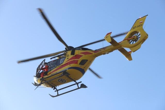 Koszmarny wypadek w zakładzie produkcyjnym w Bielsku-Białej. Mężczyzna wpadł do maszyny. Na pomoc ruszyli ratownicy LPR.