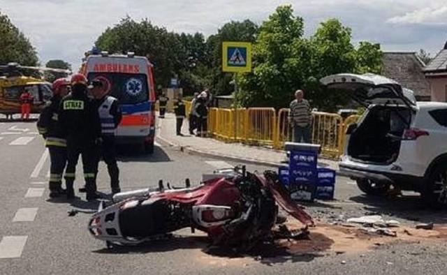Komendant policji w Mikołowie zginął w wypadku. 54-letni ksiądz usłyszał zarzuty i grozi mu 8 lat więzienia