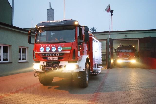 Strażacy z powiatu zgierskiego na brak wezwań nie narzekają...