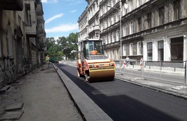 Przebudowa ulicy Henryka Probusa we Wrocławiu.