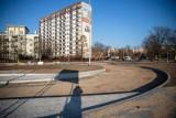 Białystok. Przy skrzyżowaniu Piastowskiej i Branickiego powstają pętla autobusowa i parking. Będzie też nowy buspas [ZDJĘCIA]