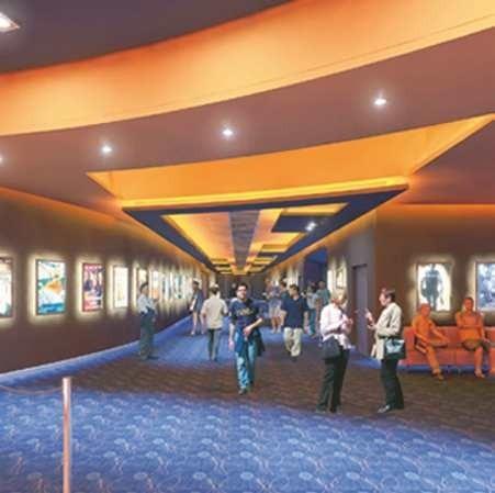 Tak ma wyglądać hol w zielonogórskim kinie sieci Cinema City