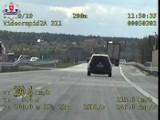Kierowca volkswagena jechał 209 km/h na ekspresówce pod Rykami