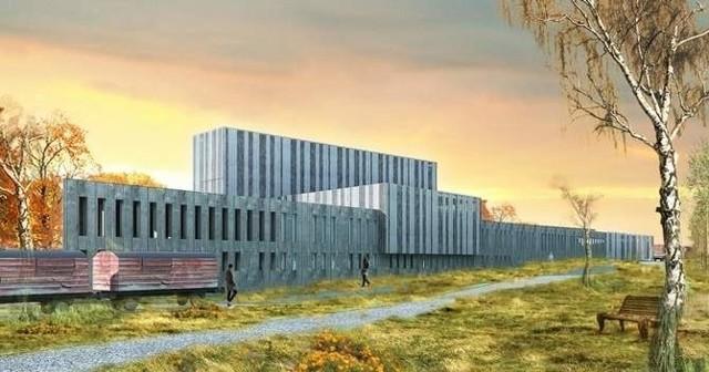 Wizualizacja Muzeum Pamięci Sybiru