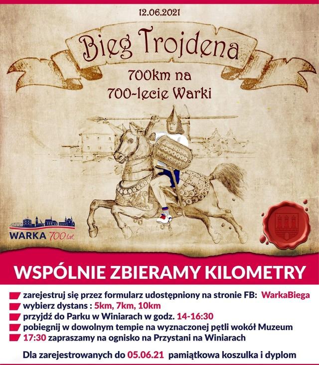 Bieg Trojdena po raz pierwszy w Warce już 12 czerwca.
