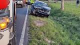 Wypadek w miejscowości Lulewiczki koło Białogardu. Dziecko trafiło do szpitala na badania