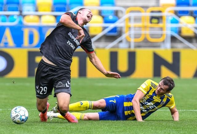 Piłkarze GKS Tychy wygrali w Gdyni z Arką 1:0    Zobacz kolejne zdjęcia. Przesuwaj zdjęcia w prawo - naciśnij strzałkę lub przycisk NASTĘPNE