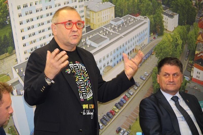 Jurek Owsiak odwiedził Cieszyn