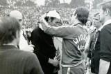 Sędzia zraniony na stadionie ŁKS. Widzew w pucharach 40 lat temu i w lidze. Zdjęcia