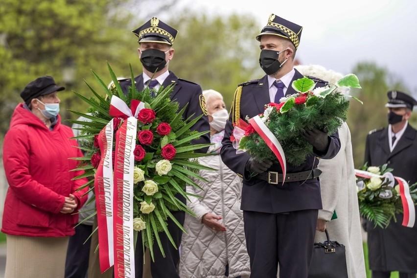 Gdańsk. Uroczystości 76 rocznicy zakończenia II wojny...